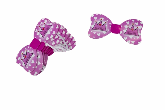 Picture of Bow Tie PRINCESS CROWN 10 PCs - 14 x 6.5 Cm