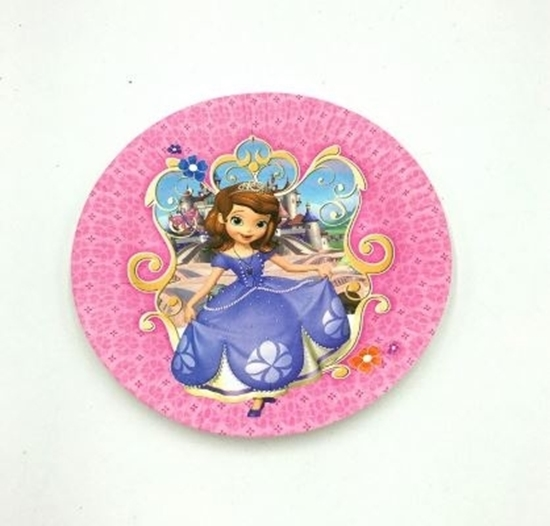 Picture of Paper Plate SOPHIA 2 / 10 PCs - 18 Cm