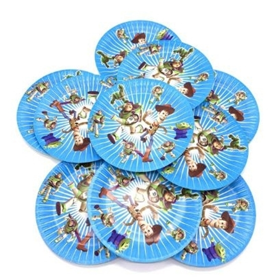 صورة Paper Plate TOY STORY BUZZ 10 PCs - 18 Cm