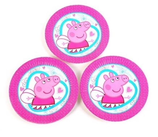 Picture of Paper Plate PEPPA PIG 10 PCs - 23 Cm