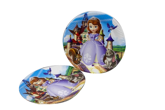 Picture of Paper Plate SOPHIA 10 PCs - 23 Cm