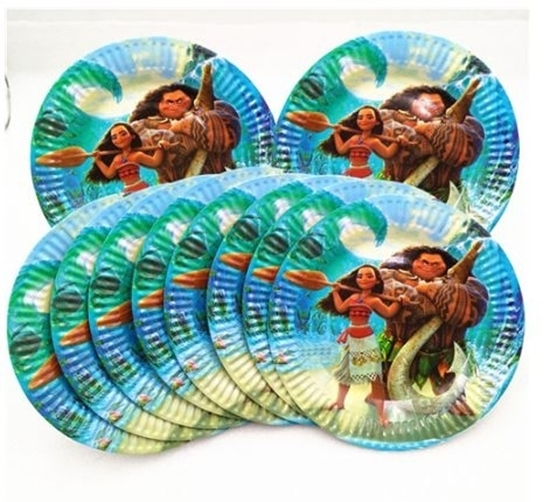 Picture of Paper Plate MOANA 10 PCs - 23 Cm
