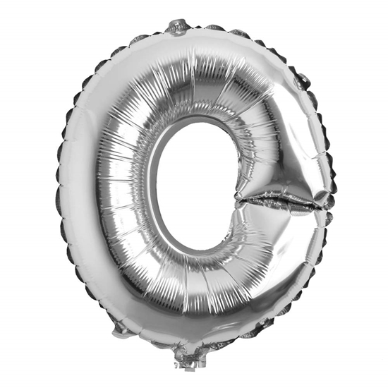 Picture of 32 Inch Silver Foil Balloon Letter