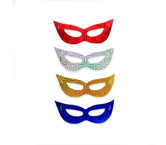 Picture of Face Mask - Party Eye Mask (10pcs) - 17 x 7 Cm