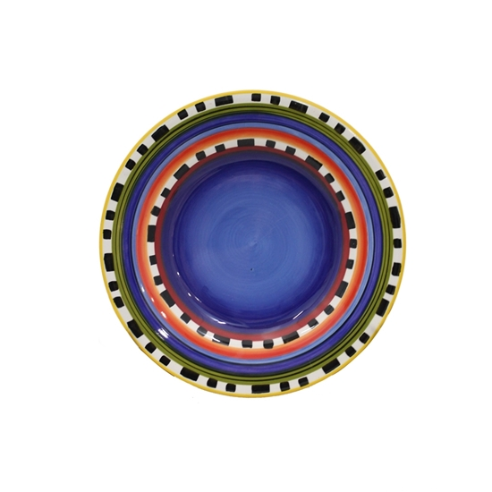 Picture of Colored Ceramic Plate - 27 Cm