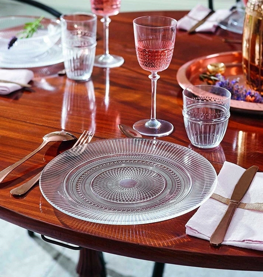 صورة Duralex Lys Clear Club Dinner Plate - 28 Cm