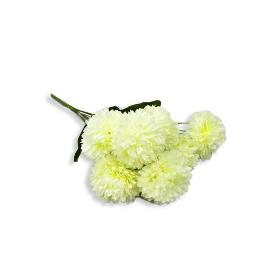 Picture of Pom Pom Artificial Flower - 35 Cm