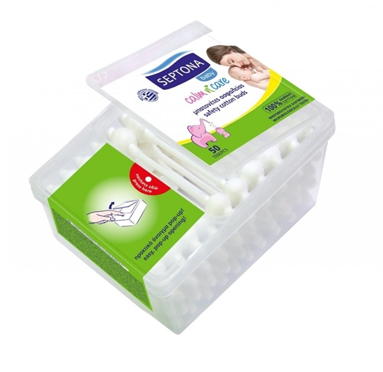 صورة Septona - Safety Cotton Buds Baby - 50 PCs