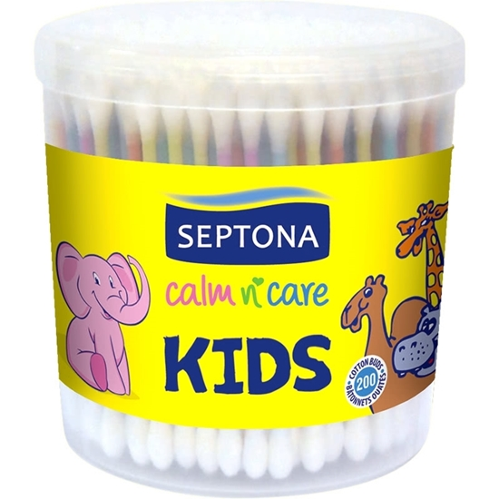 Picture of Septona- Calm n Care Cotton Buds for Kids - 200 PCs