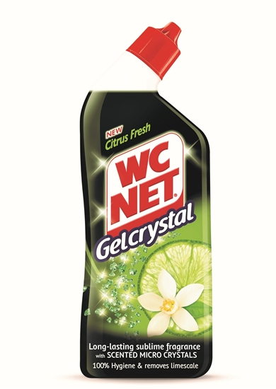 Picture of Bolton - WC NET Toilet Cleaner Gel Crystal Green Citrus 750 ML