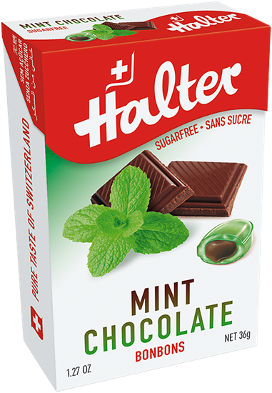 Picture of Halter - Mint Chocolate Sugar Free Bonbons