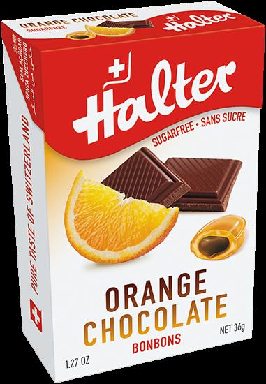 صورة هالتر- برتقال وشوكولاتة - خالي من السكر