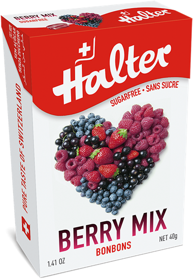 Picture of Halter - Berry Mix Sugar Free Bonbons