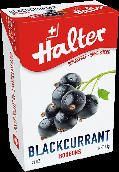 Picture of Halter - Blackcurrant Sugar Free Bonbons