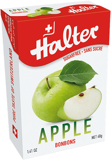 Picture of Halter - Apple Sugar Free Bonbons