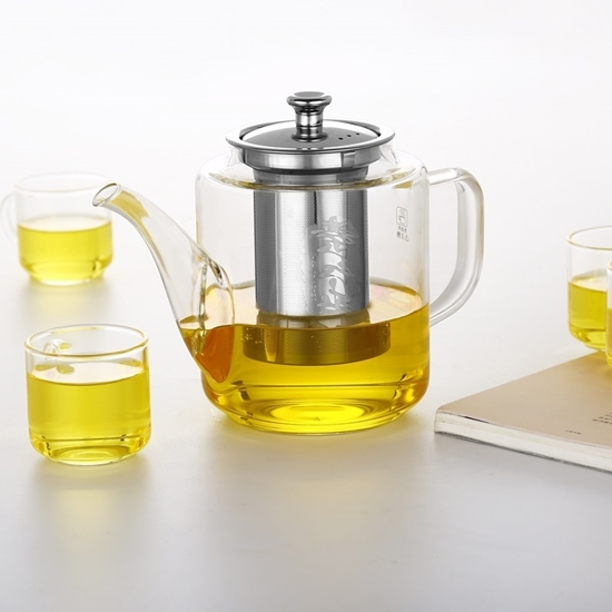 Picture of Glass Teapot Kettle - 16 x 17 Cm