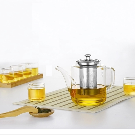 Picture of Glass Teapot Kettle - 950 ML