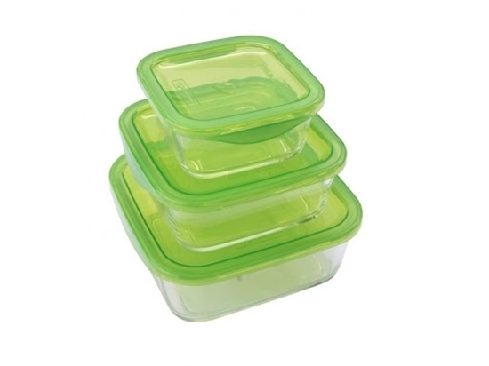 Picture of Luminarc - Keep N' Box Square Container set of 3