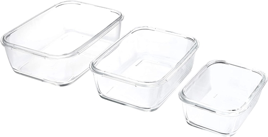Picture of Luminarc - Rectangular Pure Box Active set of 3 containers