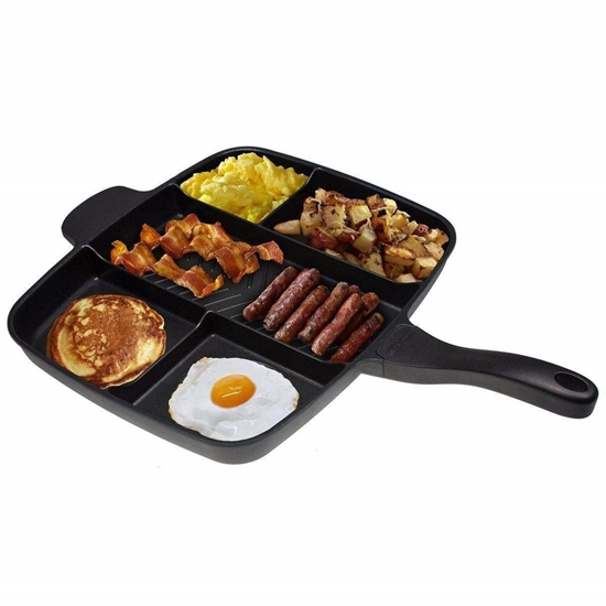 Picture of 5 in 1 Magic Frying Pan Master - 38 x 30 x 3.15 Cm