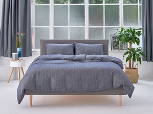 صورة لقسم فرش السرير