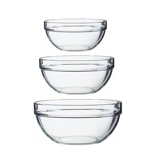 Picture of Luminarc - Stackable Bowls Set of 3 (17- 20 -23 cm)