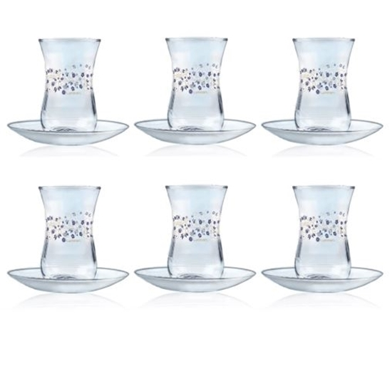 Picture of Luminarc - Estakan Lovinette Cup & Saucer, Set of 6, 12 PC