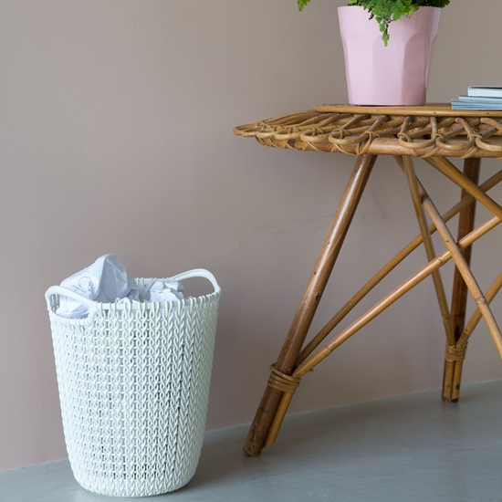 Picture of Curver - Knit Paper Basket - 27 x 22 Cm