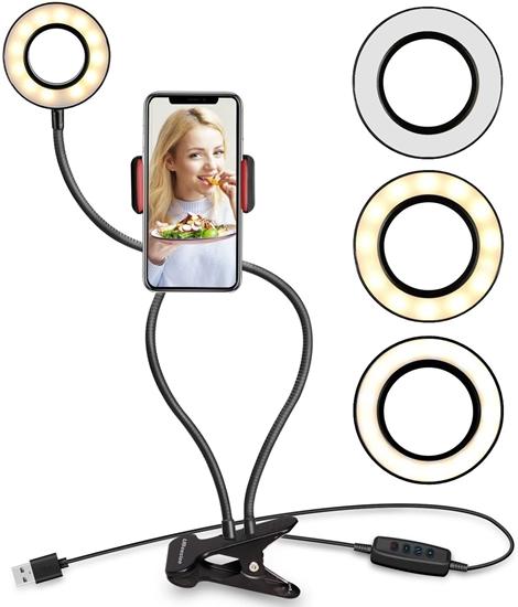 صورة مصباح حلقي لصور السيلفي - 680 × 110 ملم