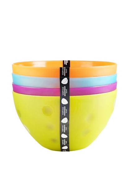 Picture of Plastic Bowl, 4 PCs - 14 x 25 Cm