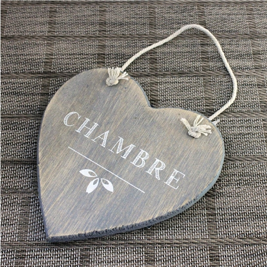 Picture of Wooden Hanging Sign - 13 Cm