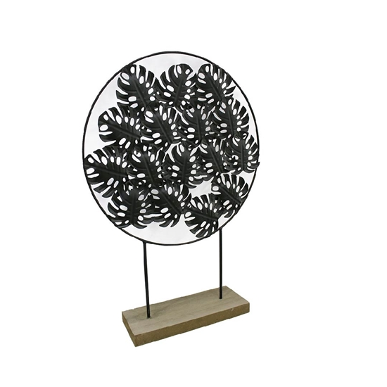 Picture of Decorative Iron Leaves - 46 x 32 Cm