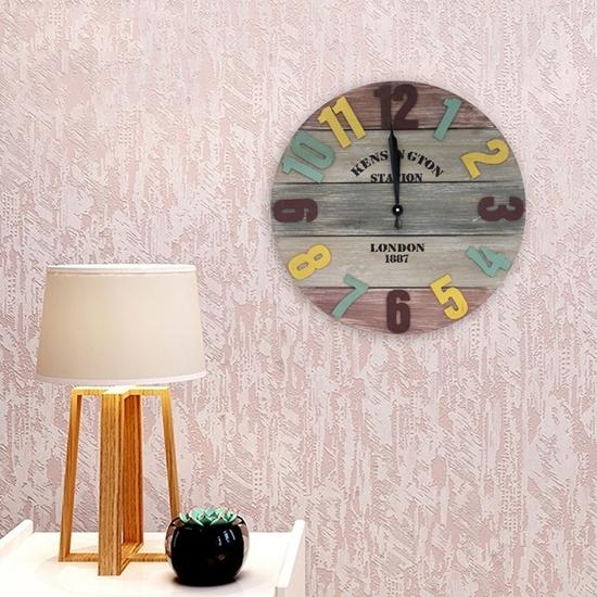 صورة Wall Clock - 35 Cm