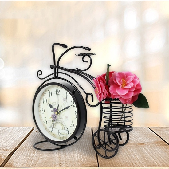 Picture of Bicycle Table Clock - 23 x 21 Cm
