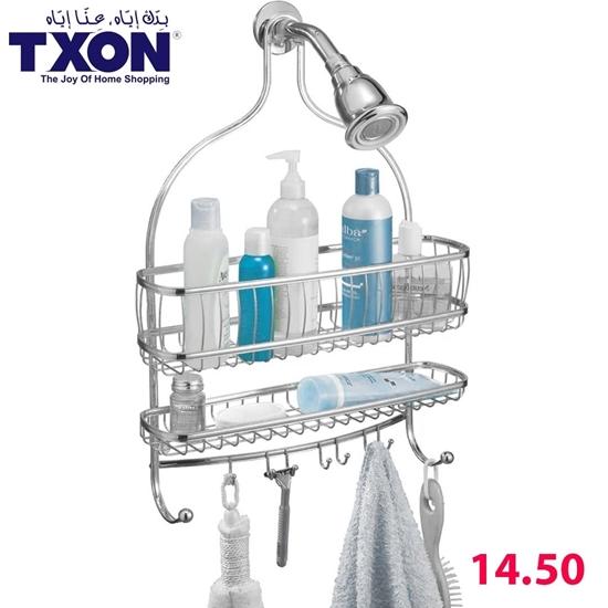 صورة Shower Caddy Bathroom - 40 x 11 x 55.5 Cm
