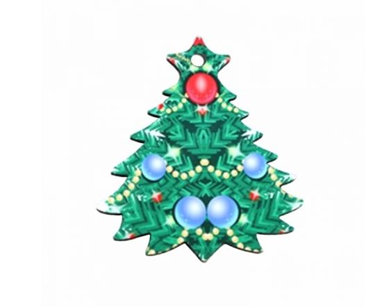 صورة Christmas Tree Shape Pendant - 7.3 x 6.5 Cm