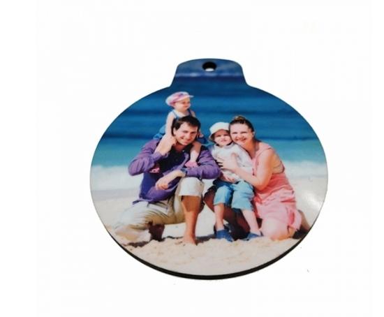 صورة Christmas Lamp Shape Pendant - 7.3 x 6.3 Cm