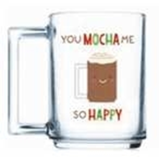 Picture of Luminarc - A La Bonne Mocha Happy Mug, 2 Pieces