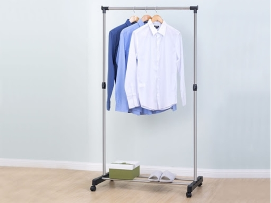 Picture of Rolling clothes rack