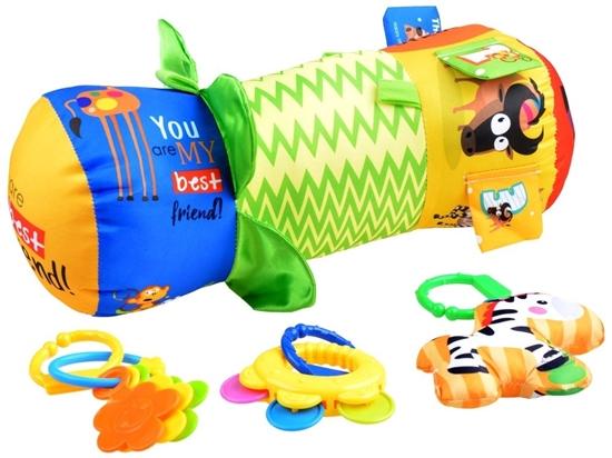 صورة وسادة لعب للأطفال - 39 × 15 سم