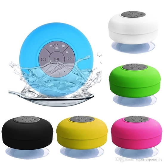 Picture of Waterproof Bluetooth Mini Speaker - 8.5 x 5.5 Cm