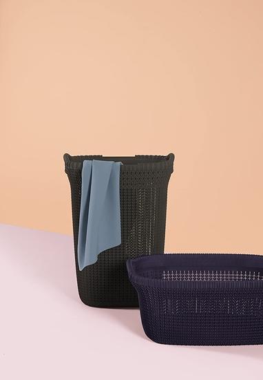 صورة Curver - Laundry Basket - 45.2 x 34.1 x 61.4 Cm