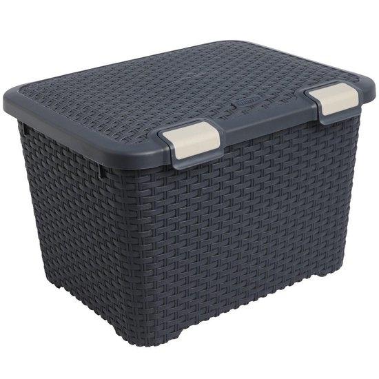صورة Curver - Style Storage Box , 43L - 49.5 x 39.7 x 33.9