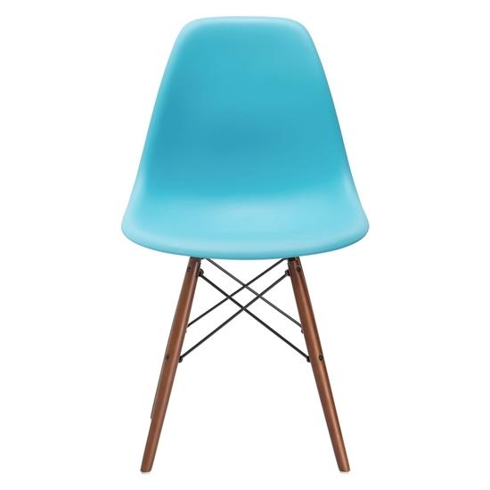 صورة كرسي بألوان متعددة من البلاستيك قياس 82 × 45 × 45 سم
