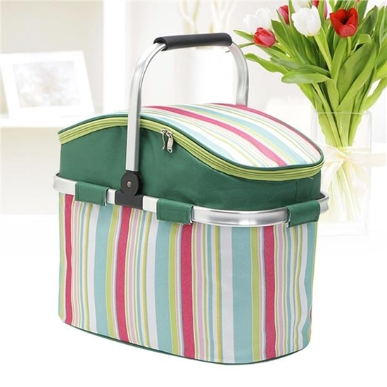 Picture of Collapsible Picnic Basket - 42 x 23 x 27 Cm