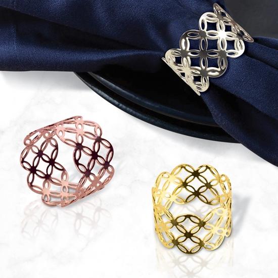 صورة Napkin Ring, 6pcs - 4.5 Cm