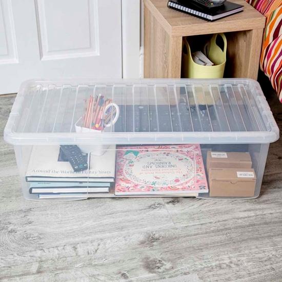 صورة Whatmore - Storage Box - 79.5 x 39.5 x 25 Cm