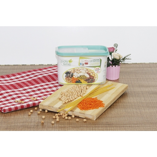Picture of Poly Time - Food storage container, 1.25L - 19 x 12 x 9 Cm