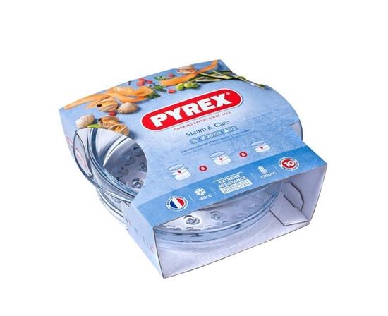 صورة Pyrex - Steam & Care, 2L - 20  x 7.5 Cm