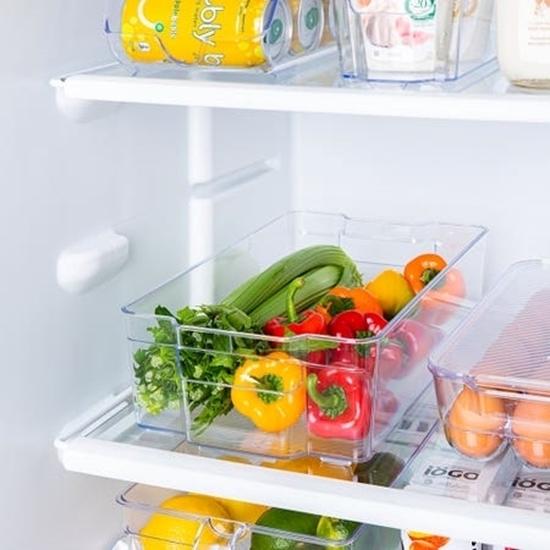 صورة منظم للثلاجة - 33 × 21.5 × 9 سم